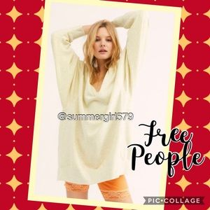 NWOT Free People We the Free You and Me Pulliver